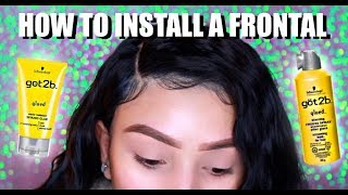 How To Install A Lace Front EASY AF   NO GLUE