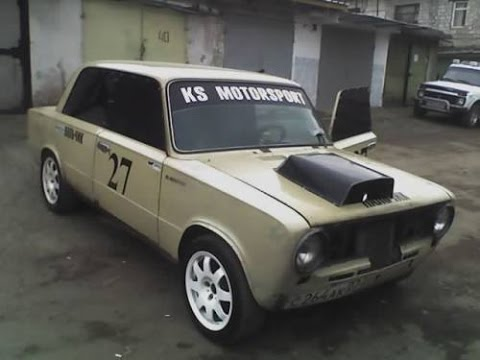 Дрифт. Убить автомобиль Ваз 2107 за 1 мин. Drift. Kill VAZ 2107 for 1 min.