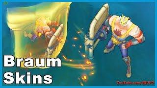 All Braum Skins (League of Legends)