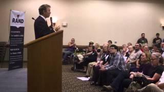 Rand Paul full speech - Burlington, Iowa