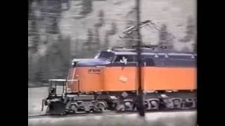 Milwaukee Road Electrics (In the Rocky Mountains)