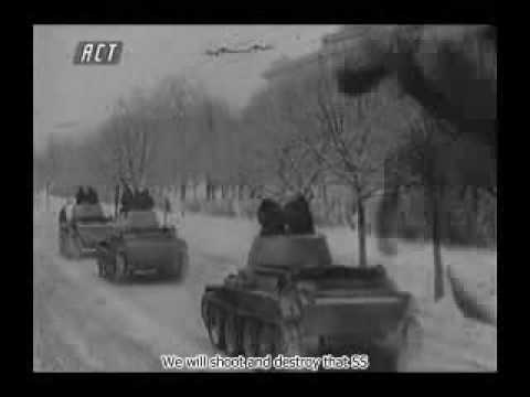 Battle of Moscow - Soviet march (legend)