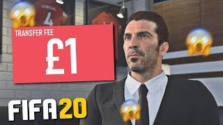CAN YOU SIGN PLAYERS FOR £1 ON FIFA 20 CAREER MODE?