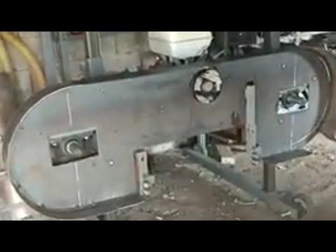 Raylı yatay şerit testere (homemade sawmill) p#3