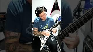 Children Of Bodom - Living Dead Beat solo cover ( Rip Alexi Laiho )