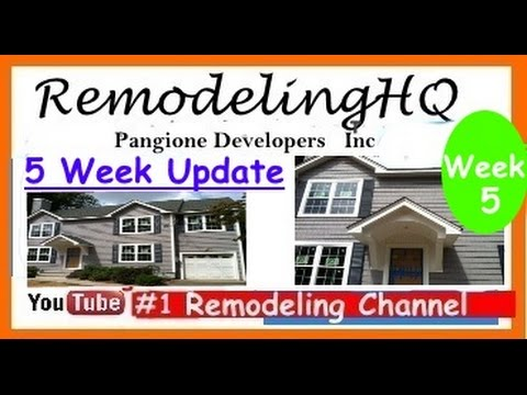 how-to-home-improvements-&-remodeling---5-week-update