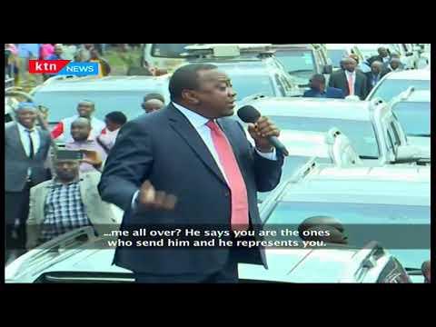 President Uhuru has told off Bahati MP, Ngunjiri on his attacks of the head of state