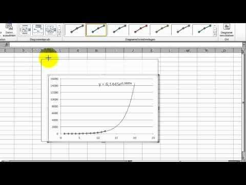 Excel - Regression (1) - Regressionsgerade, Steigung und Achsenabschnitt from YouTube · Duration:  9 minutes 5 seconds