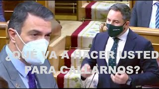¡DESAFÍO TOTAL DE ABASCAL A PEDRO SÁNCHEZ!