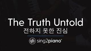 The Truth Untold (Piano Karaoke Instrumental) BTS & Steve Aoki