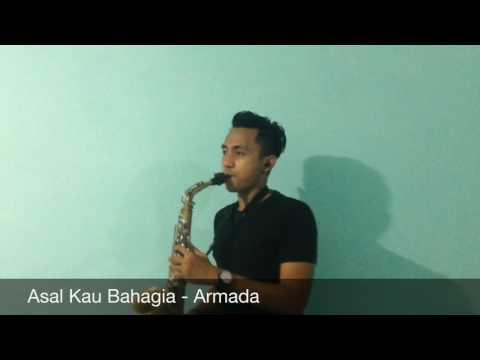 Asal Kau Bahagia - Armada (saxophone short cover)