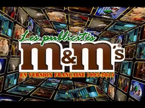 Best-of M&M's 1995-2015 TV Commercials | Les Publicités Françaises (16/9)