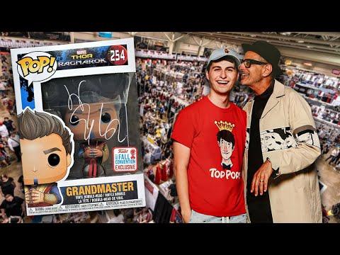 Funko Pop Hunting With Jeff Goldblum