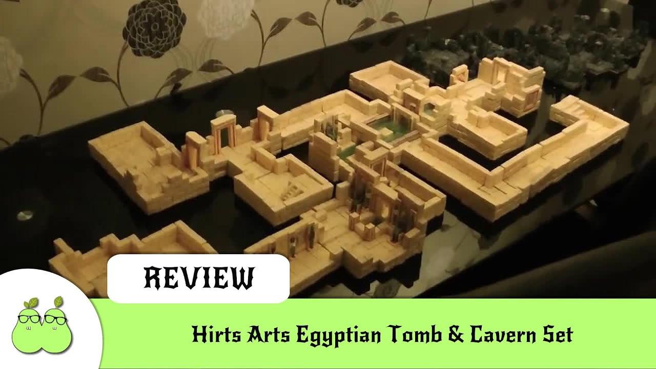 Hirts Arts Egyptian Tomb & Cavern Set - YouTube