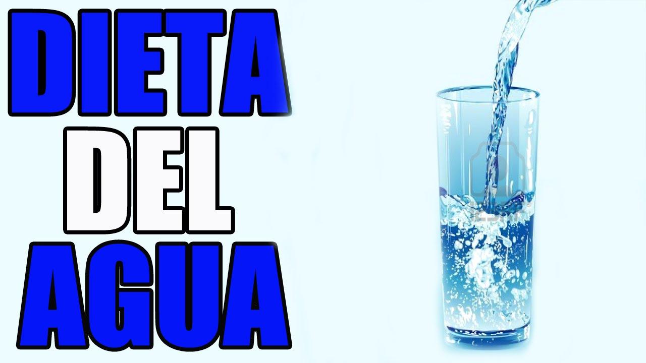 cuantos kilos se puede bajar en una semana tomando solo agua