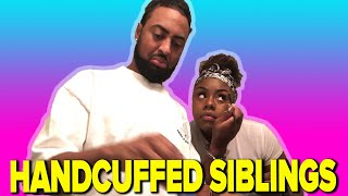Download Siblings Get Handcuffed For 24 Hours Mp3 and Videos