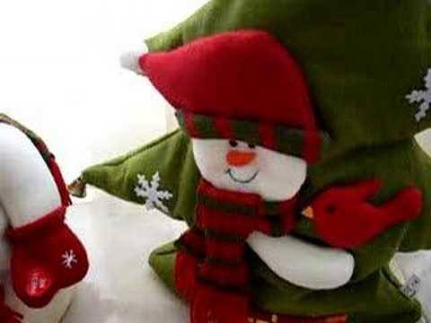 Mu ecos de navidad youtube - Manualidades munecos de navidad ...