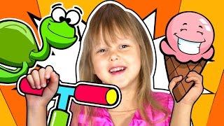 ВЛОГ Игрушки Свинка Пеппа Барби Мыльные Пузыри Змея атакует Катаемся на самокате Едим мороженое