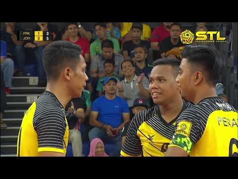 STL 2018: Perak Bison lwn Johor Tigris | 2-0 | Astro Arena