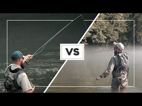 Euro Nymphing VS. Dry Dropping—Which FLY FISHING Method Is Better?