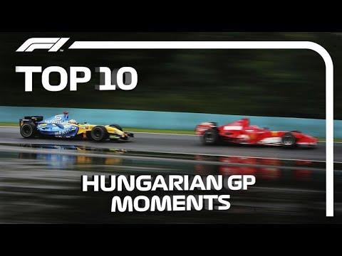 Top 10 Hungarian Grand Prix Moments