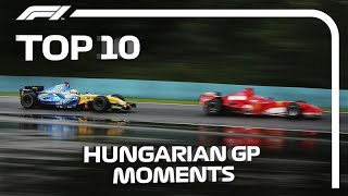Top 10 Hungarian Grand Prix Moments