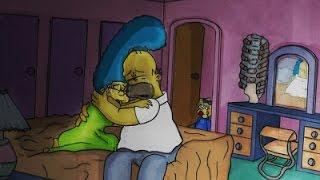 El Divorcio de Homero y Marge La verdadera histori