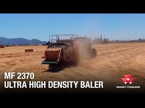 Hesston by Massey Ferguson 2370 Ultra High Density Baler