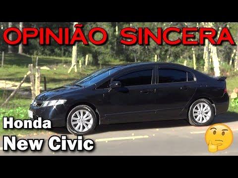 Tudo (ou quase) sobre o New Civic 8° geração