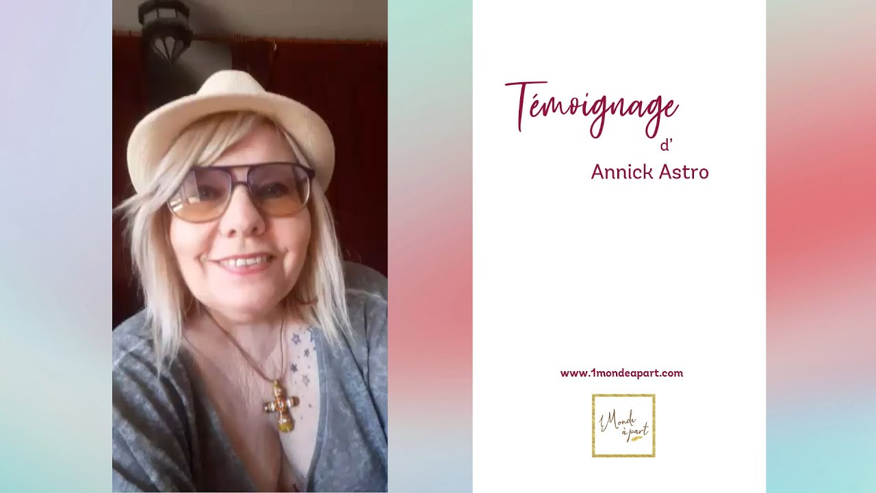 Témoignage d'Annick Astro sur mes shootings photos