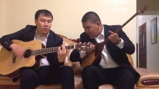 Ялла чайхана на домбре и гитаре (Казакша гитара)(, 2015-12-26T05:50:44.000Z)