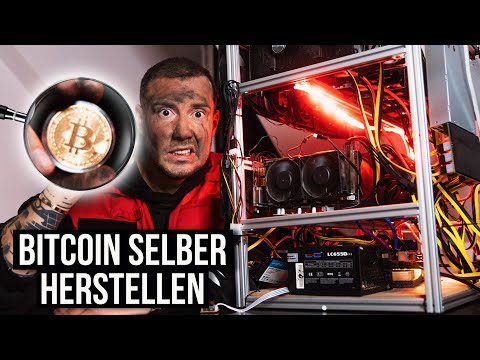Das Bitcoin Mining-Rig Selbstexperiment - 0-100.000€ Challenge