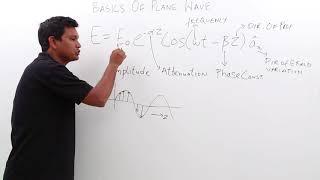 Electro Magnetics Theory - Basics of Plane Wave