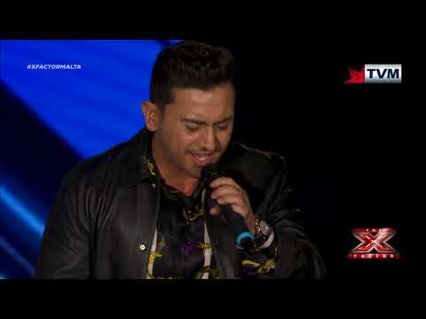 X Factor Malta - The Chair Challenge - Norbert Bondin