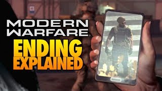 Call of Duty Modern Warfare Campaign - Ending Explained