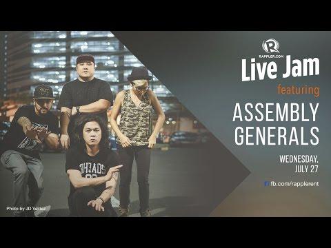 Rappler Live Jam: Assembly Generals