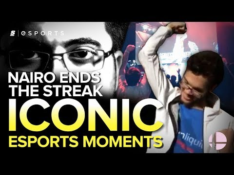 ICONIC Esports Moments: Nairo Ends the Incredible Streak (MLG 2015 - Smash)
