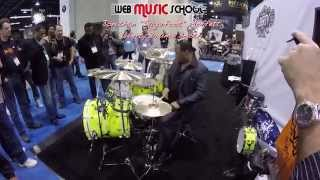 "NAMM 2015 - Liberty Drums - Jonathan ""Sugarfoot"" Moffett"