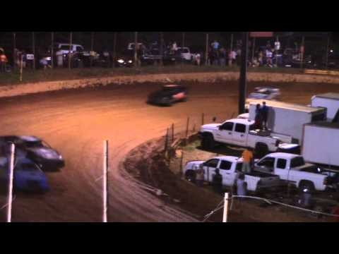 Winder Barrow Speedway Advanced Four Cylinders Feature Race 7/25/15