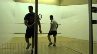 Squash - Hugh Lee - Parkway Athletic vs Cedar Springs - Game 1