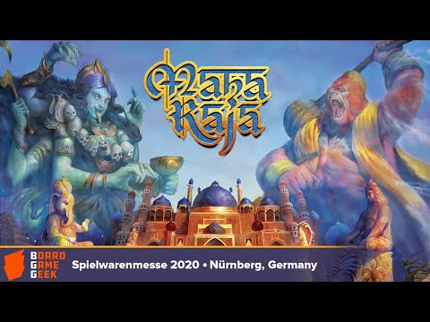Maharaja — Game Preview At Spielwarenmesse 2020