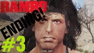 Rambo The Video Game ENDING Walkthrough Chapter 3 (1988) - Rambo Videogame 2014 Gameplay Part 3