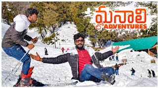 Adventure Activities In Manali | Solang Valley | Telugu Traveller