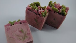 I Tried Following A Yellow Cottage Soapery Soap Making Video | Japanese Cherry Blossom Soap