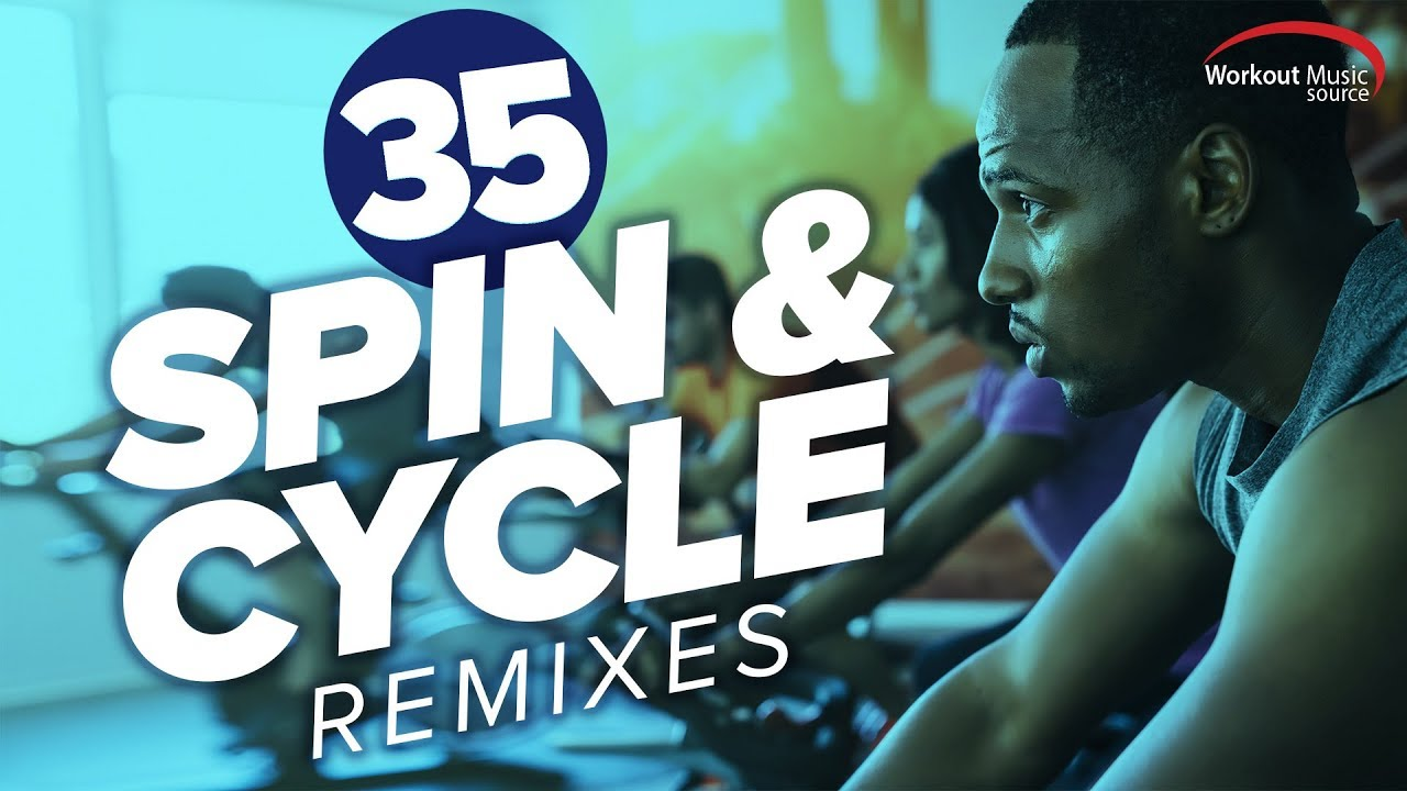 Workout Music Source // 35 Spin & Cycle Remixes (80-159 BPM)