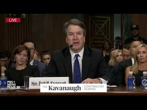 'My friends and I cringed' over high school yearbook, says Kavanaugh