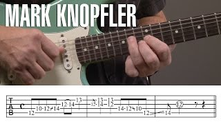 Mark Knopfler Guitar Licks Lesson