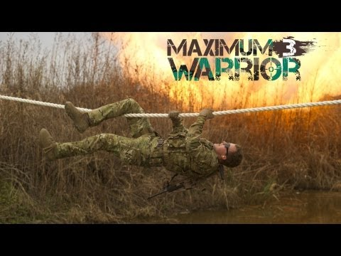 Obstacle Course Challenge  Week4  MAXIMUM WARRIOR 3  Military competition