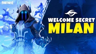 Team Secret Fortnite introducing Milan