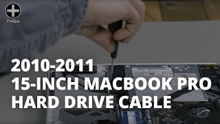 How to Replace the Hard Drive Cable in a 15-inch MacBook Pro Mid 2010-Late 2011